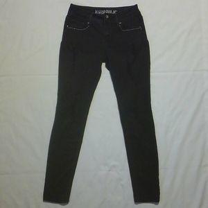 Black Hydraulic Lola Skinny Distressed Jeans 9/10